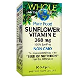 Whole Earth & Sea from Natural Factors, Sunflower Vitamin E, Whole Food Supplement