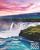 2021-2022: The Great Niagara Falls Two Year 24-Months Weekly Planner Agenda Calendar Organizer with Useful Features