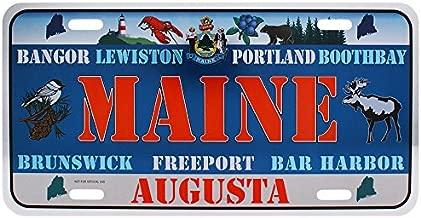 Dimension 9 Home Decorative Plate, Maine