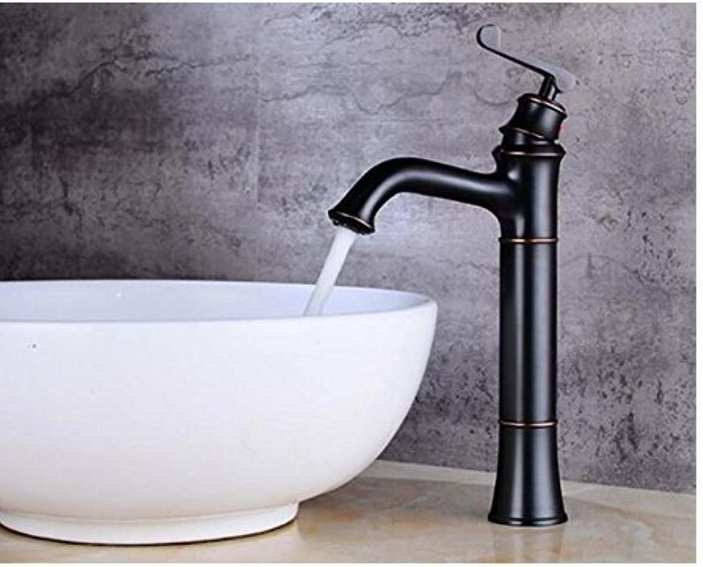 Diongrdk Single Hole Single Dark Bathroom Faucet