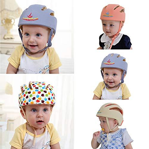 puissant Capuche de protection ajustable avec bonnet anti-collision YG Qersh pour bébé…