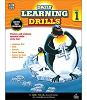Daily Learning Drills, Grade 1 (Brighter Child: Daily Learning Drills)