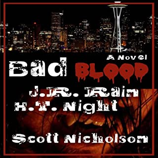 Bad Blood: A Vampire Thriller (The Spider Trilogy Book 1) cover art