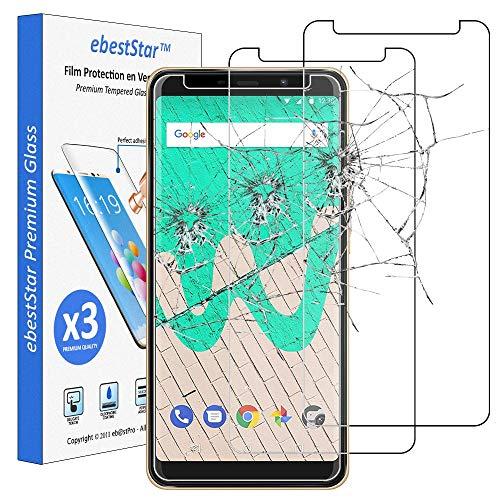 ebestStar - kompatibel mit Wiko View Max Panzerglas x3 Schutzfolie Glas, Schutzglas Bildschirmschutz, Bildschirmschutzfolie 9H gehärtes Glas [Phone: 157.8 x 75.8 x 7.9mm, 5.99'']
