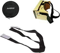 Andoer® Poggiatesta Regolabile Mount Strap Belt per Google Cartone Realtà Virtuale VR Occhiali 3D