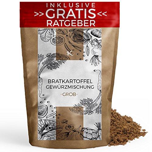 Bratkartoffel Gewürzmischung grob 450g | Bratkartoffel-Würzer Gewürzspezialität inkl. gratis Ratgeber | hochwertiges Küchengewürz Bratkartoffelgewürz