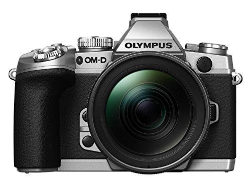 "Olympus OM-D E-M1 - Cámara Evil de 16.3 MP (Pantalla 3"", estabilizador, vídeo Full HD), Color Plateado - Kit Cuerpo cámara con Objetivo 12-40 mm f/2.8"