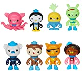 8pc Octonauts Cake Toppers Figures Set for Cake Decoration