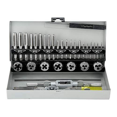 32-teiliges Gewindereparaturwerkzeug Gewindebohrwerkzeugkombination Entfernen Sie gebrochene Schrauben