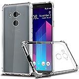 ZeKing HTC U11 Plus/HTC U11+ Case, Ultra Slim Thin Anti-Scratch TPU Rubber Soft Skin Silicone Premium Protective Case Cover for HTC U11 Plus/HTC U11+ (Transparent)