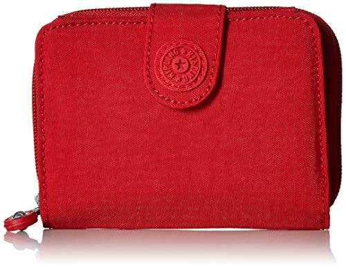 Kipling Damen New Money Wallet Geldbörse, Cherry T, Einheitsgröße
