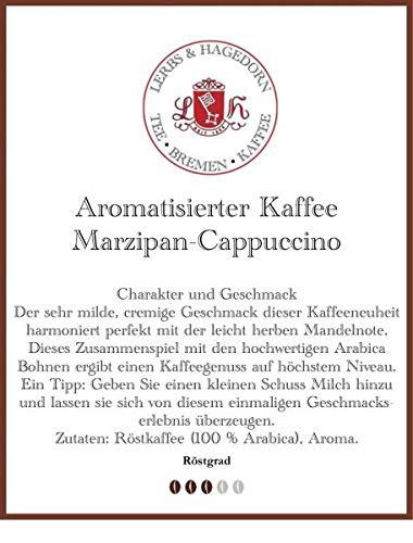Marzipan-Cappuccino Kaffee 1kg