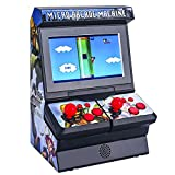 Mini Arcade Game Machine,Portable Handheld Game Console with 300 Classic Retro Games ,4.3' TFT Color Screen,Support Connect to TV,Allows 1-2 Game Players