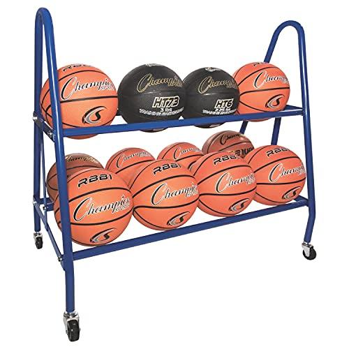 Champion Sports Ball Carts, 38x17.5x35.75-Inch