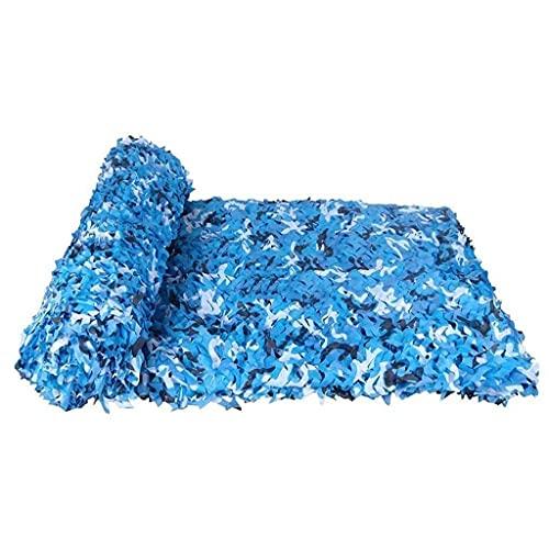 Red de Camuflaje Militar para Caza al Aire Libre De Azul de Marino de Tela de Sombra for Fiestas Al Malla Decorativa Impermeable de Tela Oxford Ligero y Duradero Red de Carga de Camuflaje para Niños