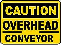 安全サイン警告金属錫注意オーバーヘッドコンパスサイン通知壁装飾記号