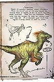Domesticates: Raptor Ark Survival Evolved Notebook, Journal for...