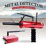 Drohneks Detector de Metales AKS, Alcance de búsqueda de sonda de Metal 3D 1200 m, Profundidad de detección 14 m para Buscar Oro, Plata, Cobre, Piedras Preciosas, Rojo