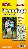 Braunlage und Hohegeiß: 1:10.000 Stadtplan mit Freizeitkarte 1:25.000: Stadtplan mit Freizeitkarte 1 : 25 000. Wanderwege, Radrouten, Wintersportmöglichkeit (KVplan Harz-Region)