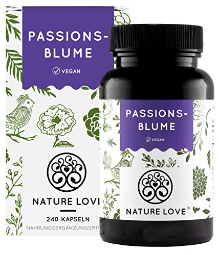 NATURE LOVE® Passionsblume Extrakt -...
