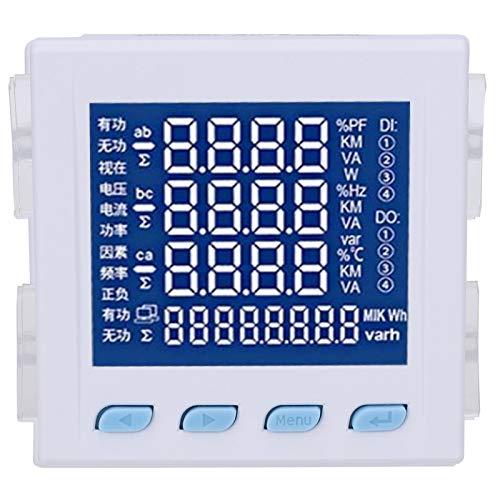 Medidor de potencia digital Medidor de potencia, cableado simple Con fácil instalación...
