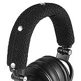 GEVO Replacement Headphone Headband Cover for AKGs, Senheiser, Sony,ATH,Audio-Technica,Shure,Panasonice Headsets,Headband Cushion Easy Installation No Tool Needed(Black)