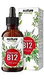 Vitamina B12 en gotas 500mcg - 1.875 Gotas veganas (75ml) - Ambas bio-activas (metil- y adenosilcobalamina) - Probadas en laboratorio y fabricadas en Alemania