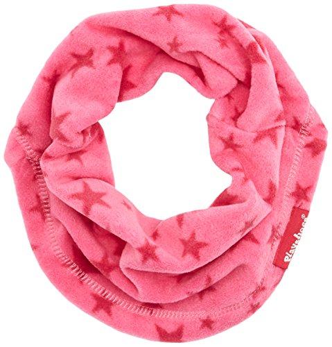 Playshoes Kinder-Unisex atmungsaktiv, mit Sternen-Muster softer Rundschal geeignet für kalte Tage, pink, one size