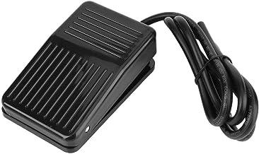 Interruptor de Pedal, 250V AC 10A Controlador de Pie Momentáneo Antideslizante,Para Taladro de Mesa,Instrumento de Máquina Herramienta,Máquina de Poder, Máquina de corte, etc.(3.3ft)