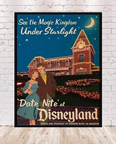 Disneyland Date Nite Poster Walt Di…
