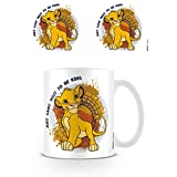 Pyramid International The Lion (Just Can't Wait TO BE King) Mug, Ceramica, Multicolore, Unica
