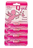QPID All Natural Libido Support for Women. Libido and Intimacy Enhancer for Women - Improves Mood and Desire - Heighten Intimate Experiences with Ginger, Turmeric, Fenugreek (4 Capsules)