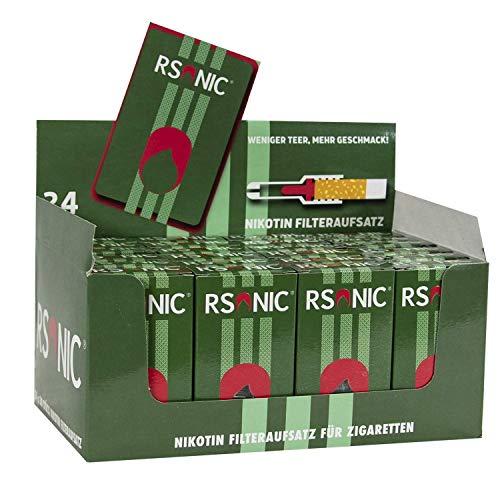 Rsonic - Zigarettenfilter Zigaretten Filter , Nikotinfilter 24 Packungen a 30 Stück