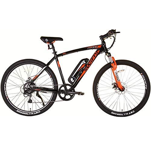 Shengmilo MX02S 48V 1000W Bicicleta Eléctrica Bicicleta de Montaña Eléctrica Bicicleta Neumática de 26 Pulgadas e-Bike Velocidades Beach Cruiser Sport para Hombres Bicicleta de Montaña ebike