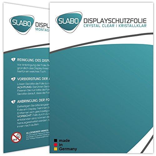 Slabo 2 x Displayschutzfolie Huawei MateBook Displayschutz Schutzfolie Folie Crystal Clear unsichtbar Made IN Germany - 5