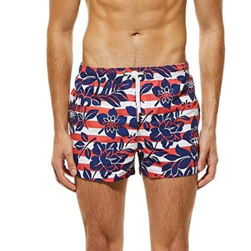 HaiDean Zwembroek met stropdas print voor heren, moderne boxershorts