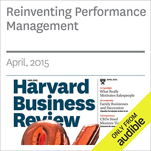 Reinventing Performance Management                   By:                                                                                                                                 Marcus Buckingham,                                                                                        Ashley Goodall                               Narrated by:                                                                                                                                 Todd Mundt                      Length: 18 mins     1 rating     Overall 4.0
