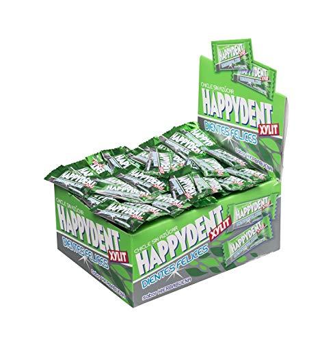Happydent Hierbabuena, Chicle Sin Azúcar - 200 unidades