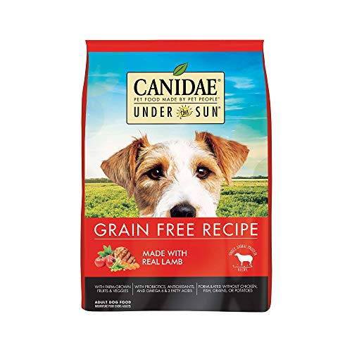 CANIDAE Under the Sun Grain Free Dog Food with Lamb, 4 lbs