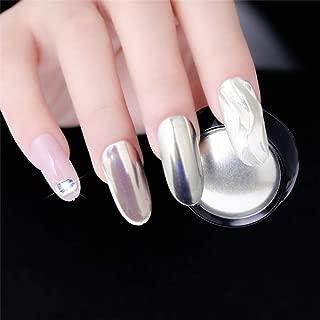 1 Pc Silver Mirror Magic Pigment Powder Manicure Dust Shiny Gel Polish Nail Art Glitter Chrome Powder Decorations