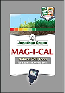Jonathan Green & Sons 11353 Mag-I-Cal Natural Food for Lawns in Acidic Soils, 5,000 sq ft, One Bag