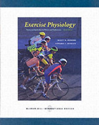 Download Exercise Physiology: Theory and Application to Fitness and Performance 0071107266