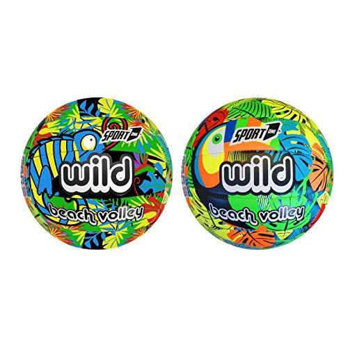 Pallone Volley Bambini Leggero Soft Outdoor Pallone Beach Volley Bambini Leggero Soft Touch Professionale (Beach Volley Wild)