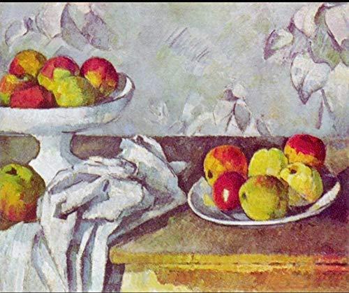 YHKTYV Pintura al óleo Dos Platos de Frutas 1000 Piezas Puzzle Desafiante y Educativa Seguro y no tóxico la Pared del hogar Pintura Juego de Rompecabezas de relajación,