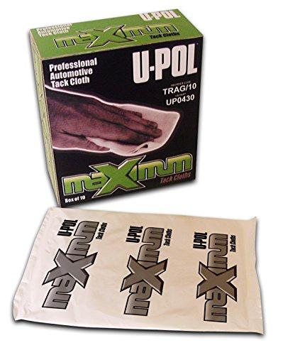UPol TRAG/10 Boîte de 10 Chiffons à poussière High Performance