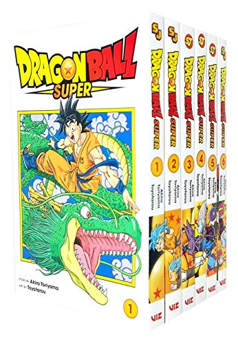 Price comparison product image Dragon Ball Super Series 1 To 5 Books Collection Set (Warriors From Universe 6!,  The Winning Universe Is Decided!,  Zero Mortal Project!,  Last Chance For Hope,  The Decisive Battle! Farwell