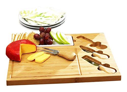 Celtic Cheese Board Set - Ceramic Dish