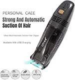 Zhaoyun Haarschneider-Set for Männer, automatischen Saug-Haar-Scherer Sicherheits-Elektro Rasierer...