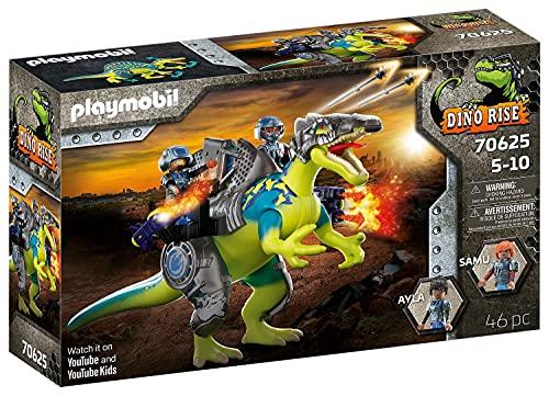 PLAYMOBIL Dino Rise 70625 Spinosaurio: Doble poder de defensa, A partir de 5 años