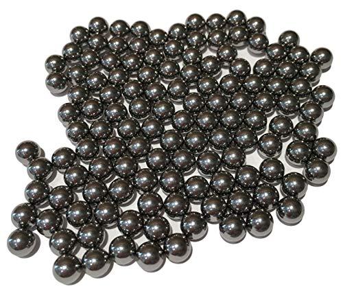 100Stk 6mm STAHLKUGEL/Gehärteter Stahl für Kugellager Maschinenbau Hobby Konstruktionen – Kugellagerkugeln Bälle